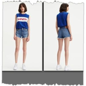 Levi's Strauss 514 Denim Cut Off Shorts